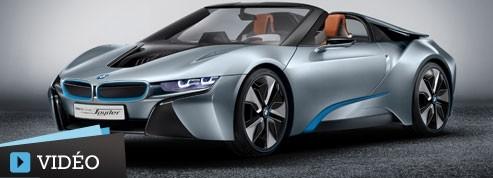 BMW i8: déjà le spyder?