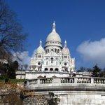Le Sacré-Coeur de Montmartre, à Paris.