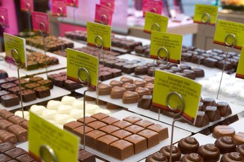 Les chocolatiers français et belges parient sur l'étranger