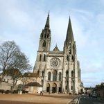 La cathédrale de Chartres.