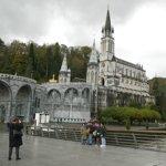 Le sanctuaire de Lourdes.