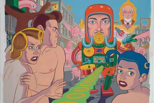 Daniel Clowes, un dessinateur de BD, s'affiche au musée