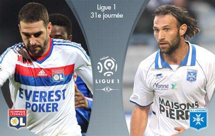 Lyon-Auxerre en DIRECT