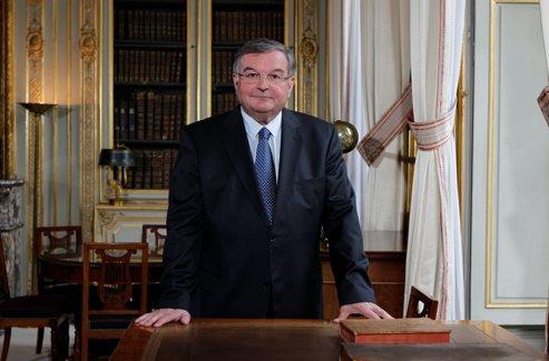 Michel Mercier, ministre de la Justice.