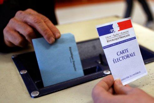 La plupart des détenus ont le droit de voter. Photo prise lors des élections régionales à Montpellier en mars 2010.