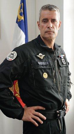 Amaury de Hauteclocque est le patron du Raid depuis 2007.