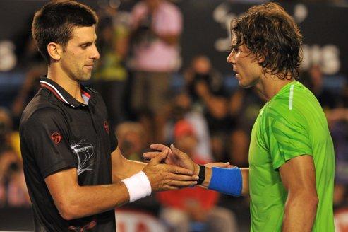 Terre de conquête pour Nadal et Djokovic