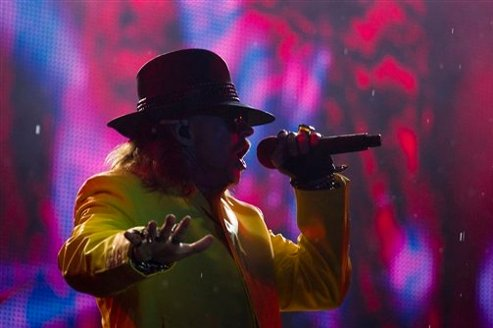 Guns N' Roses : Axl Rose refuse le Rock And Roll Hall Of Fame