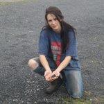 Sarah, exploitante agricole dans la Loire, victime des bitumeurs.
