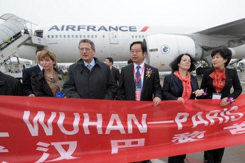 Air France-KLM accélère en Chine