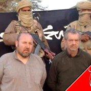 Vidéo des deux otages français au Mali