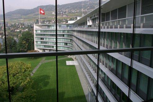 Le siège du groupe Nestlé à Vevey, en Suisse.