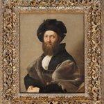 <i>Portrait de Baldassare Castiglione</i>, de Raphaël, 1514-1515.