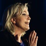 Marine Le Pen au pied du mur
