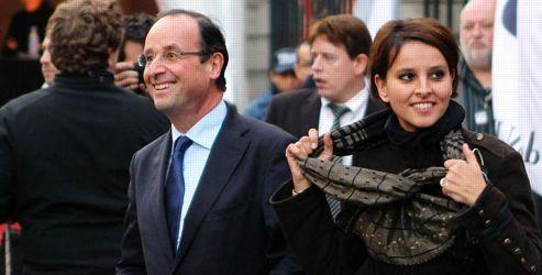Najat Belkacem, porte-parole de François Hollande. Crédits photo: ABACA