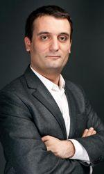 Florian Philippot, directeur stratégique de campagne de Marine Le Pen.Crédits photo: Nicolas Reitzaum/Le Figaro Magazine