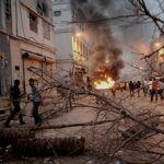 Les affrontements se sont poursuivis dans la nuit de vendredi à samedi.