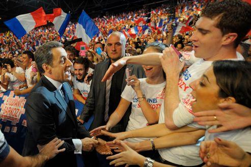 Nicolas Sarkozy compte bien arriver en tête au premier tour