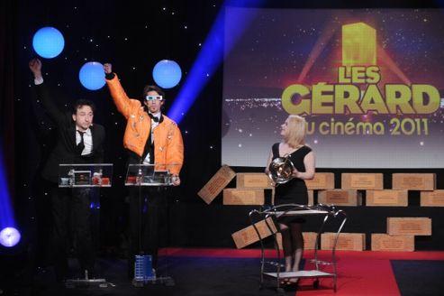 Jean Dujardin et Omar Sy nommés aux Gérard du cinéma