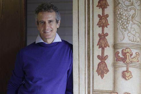 Alessandro Benetton, pose à la Villa Minelli, au nord de Venise, où est installé le siège de Benetton.