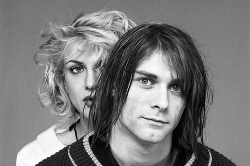 Kurt Cobain et Courtney Love en 1992. Crédit photos: Michael Lavine