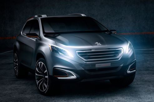 Peugeot Urban Crossover Concept: un 4×4 très urbain