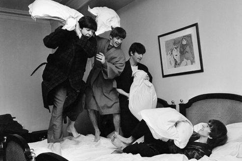 Les Beatles dans l'œil du cyclone