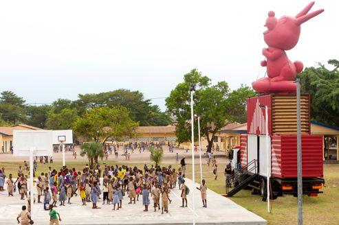 Pour les enfants, un musée beau comme un camion