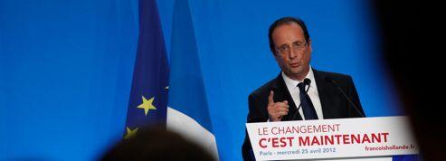 Le candidat Hollande se voit déjà président