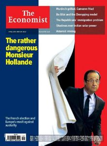 <i>The Economist</i>, à paraître samedi prochain.
