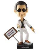 La figurine «Zarkface», inspirée par Nicolas Sarkozy et vendue par Popilz. DR
