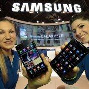 Samsung, roi des mobiles devant Nokia