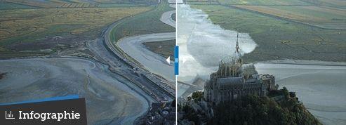 Le nouveau visage du Mont-Saint-Michel se dessine