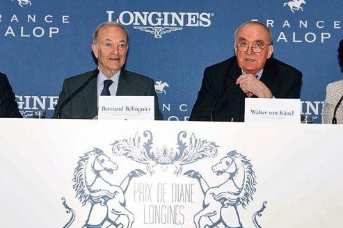 Bélinguier et von Känel, à l'unisson pour le prix de Diane