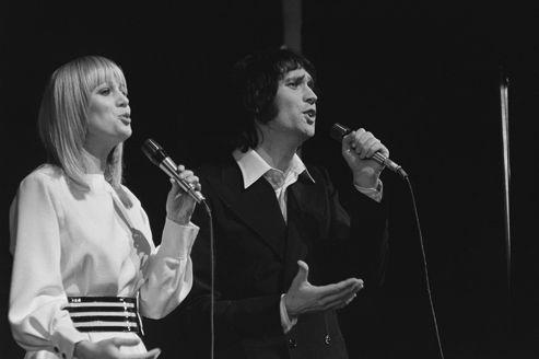 Le duo Stone et Charden en 1972. Éric Charden, 69 ans, est décédé dimanche.