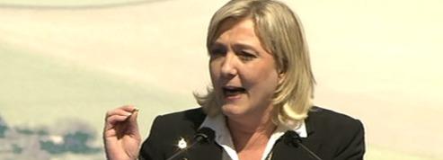 Marine Le Pen votera blanc<br> au second tour