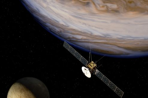 L'Europe met le cap vers Jupiter et ses lunes gelées