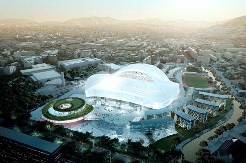 La rénovation du Vélodrome s'effectue dans le stade où l'OM continue à jouer ses matchs.