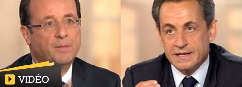 Les moments forts du débat Hollande-Sarkozy