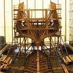 Le début du chantier il y a 15 ans. Crédits photo: FRANCIS LATREILLE/Le Figaro Magazine