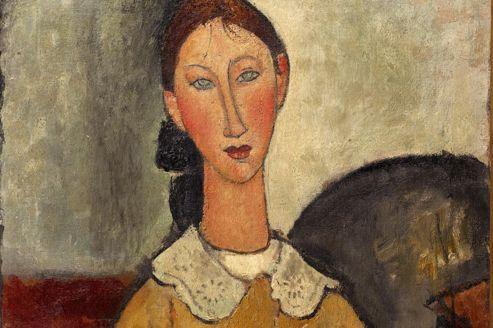 Modigliani, ses portraits exposés à Paris