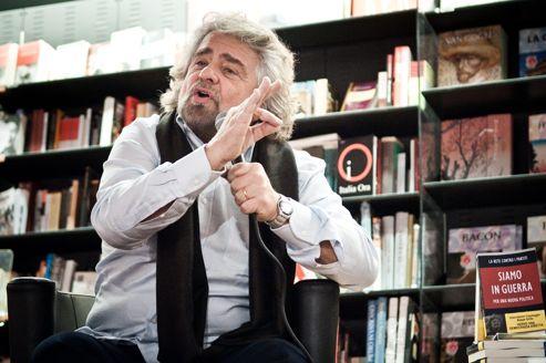 Beppe Grillo, le champion italien de l'antipolitique