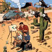 Franquin, Jijé et Morris en voyages en Amérique