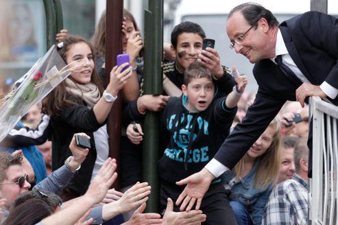 Avant de rejoindre son fief corrézien, François Hollande a tenu meeting à Forbach en Moselle vendredi matin.