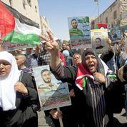 Défilés de soutien aux détenus palestiniens