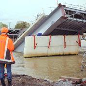 Bayonne : effondrement d'un pont