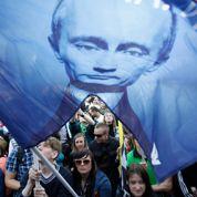 Le retour de Poutine contesté dans la rue
