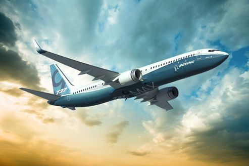 Le B 737 Max, version remotorisée du best-seller de Boeing.
