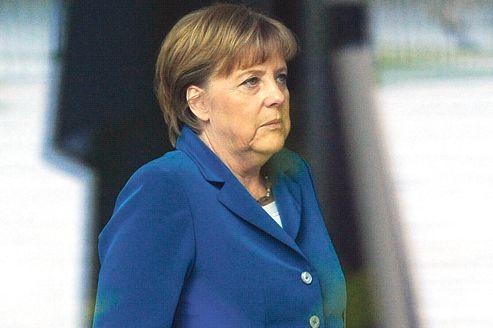 Angela Merkel, hier à la Chancellerie, à Berlin.