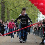 Une paraplégique boucle un marathon